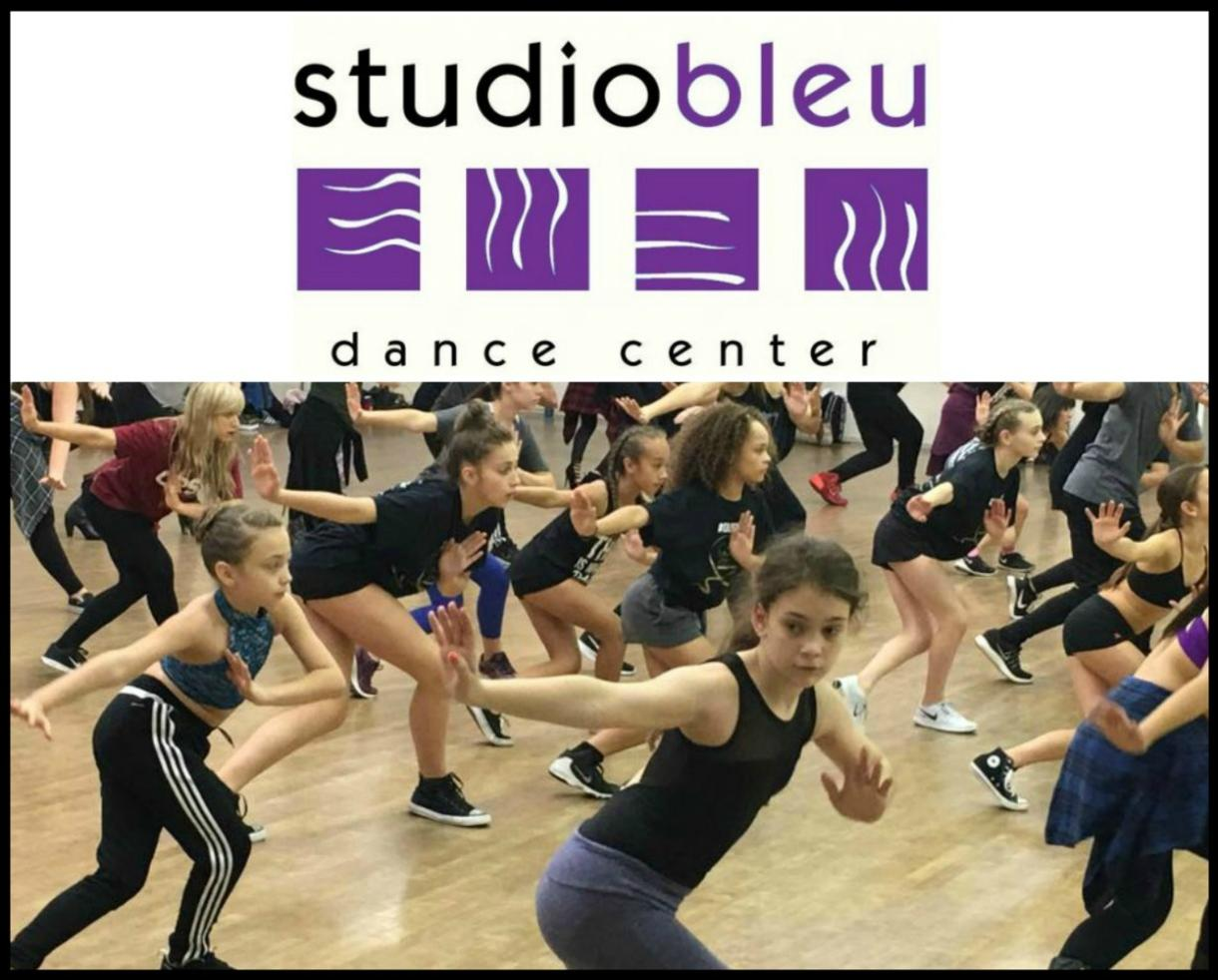 One Week of Half-Day Studio Bleu Dance Camp