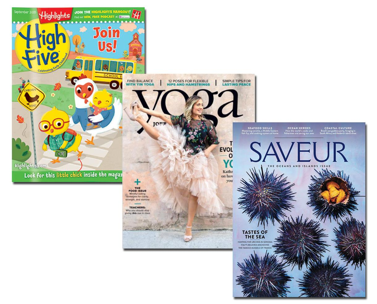 $2 Magazine Subscriptions - Choose Up to 5 Titles From Your Favorite Top Publications!