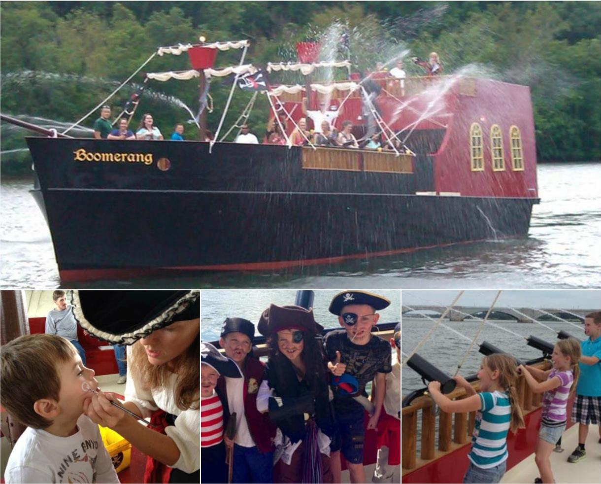 Boomerang PIRATE SHIP Family Fun Cruise