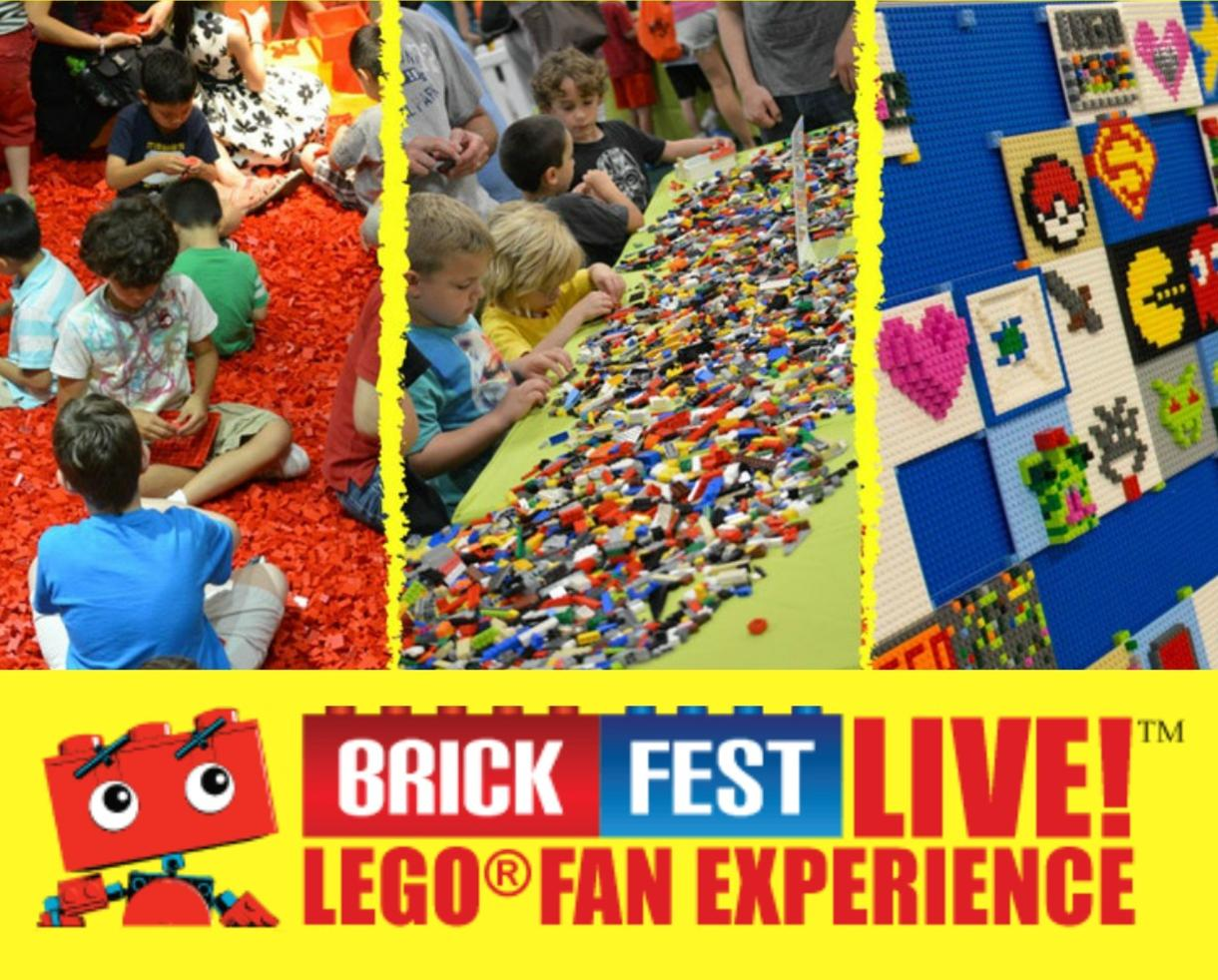 $15 for Baltimore Brick Fest Live LEGO® Fan Experience Standard Ticket + LEGO E-Book - November 4th & 5th at Maryland State Fairgrounds (Up to 70% Off)
