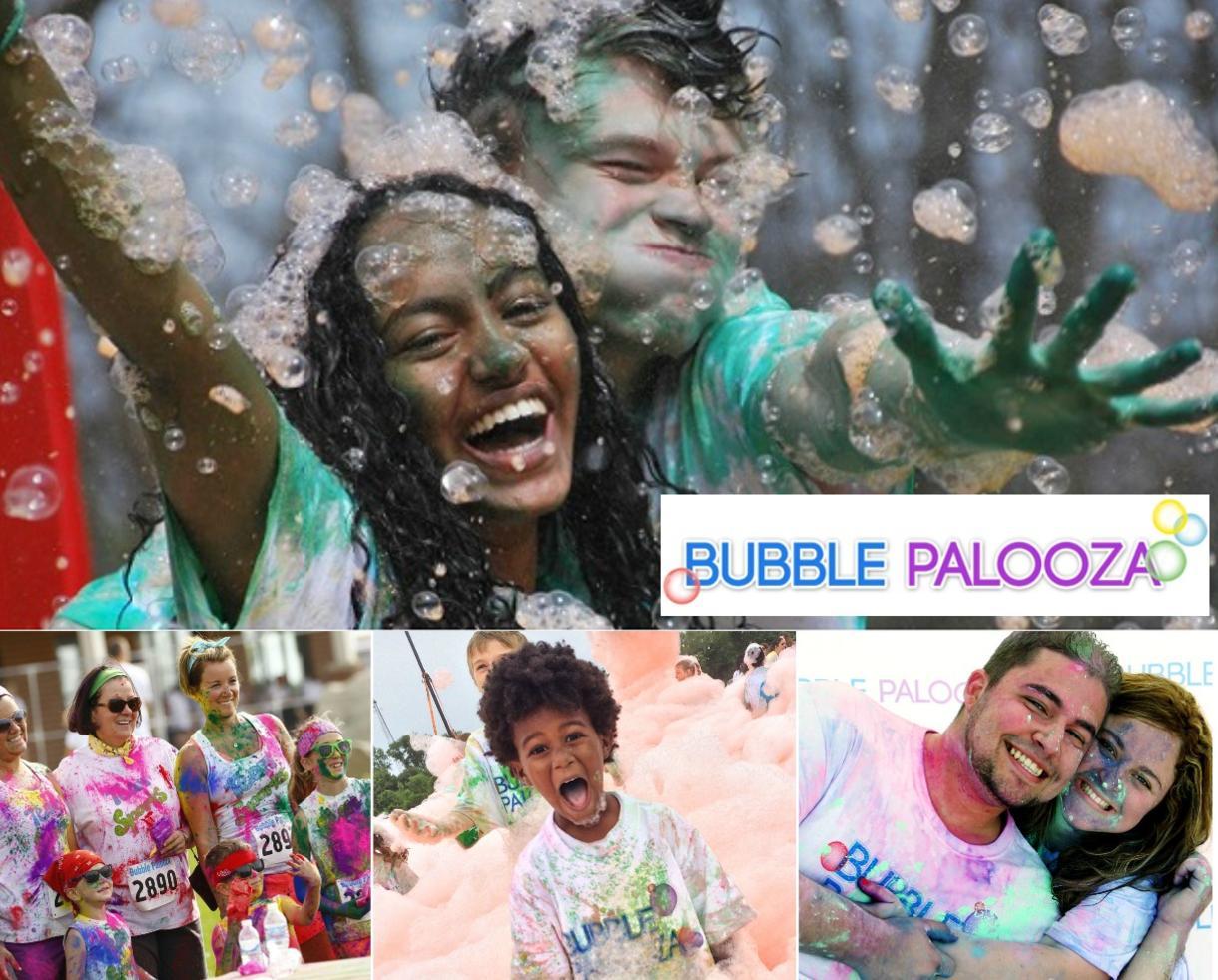 One Entry to Bubble Palooza Virginia 5K Fun Run at Loudoun 4H Fairgrounds