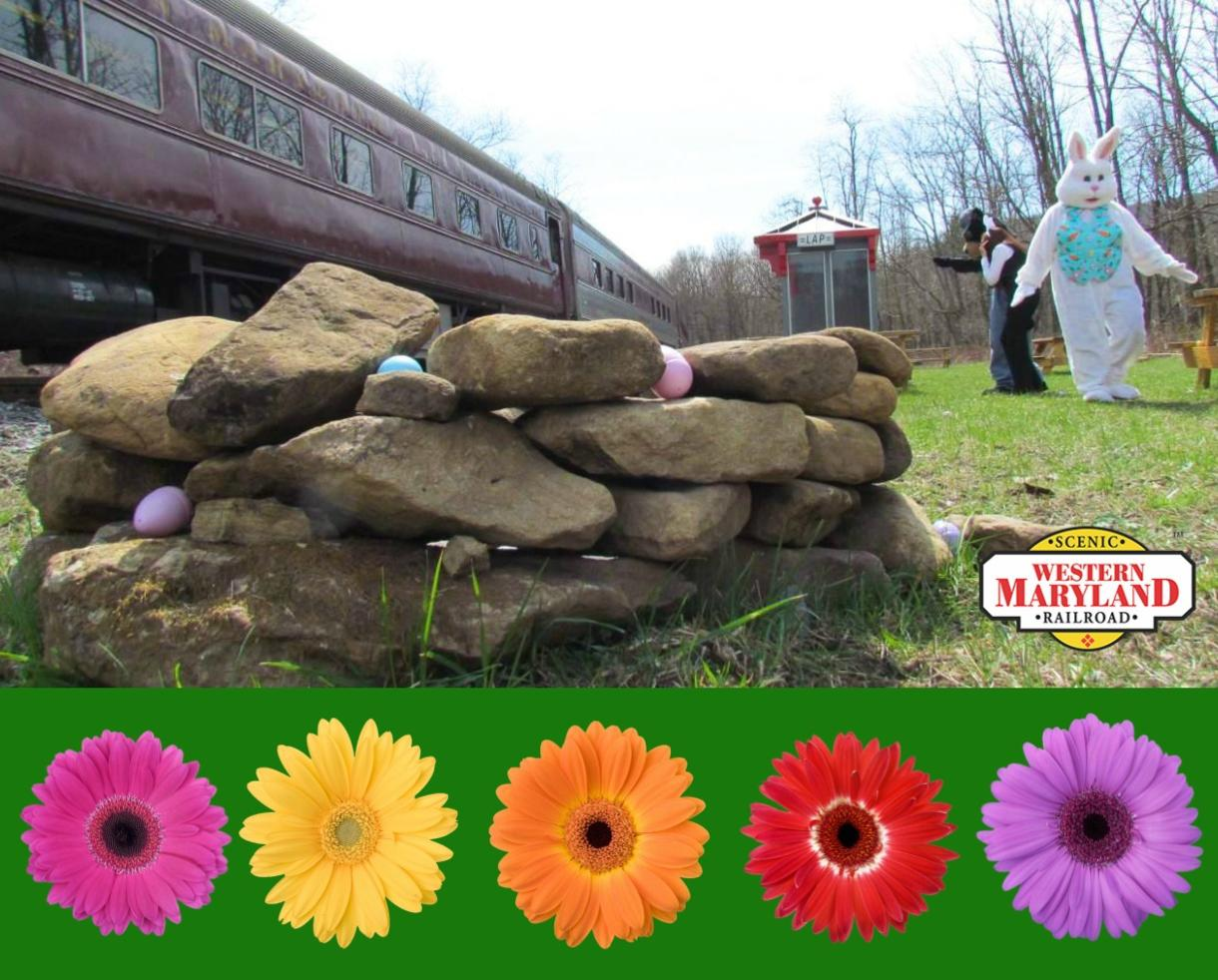 Western Maryland Scenic Railroad: Bunny Hop Train Ride