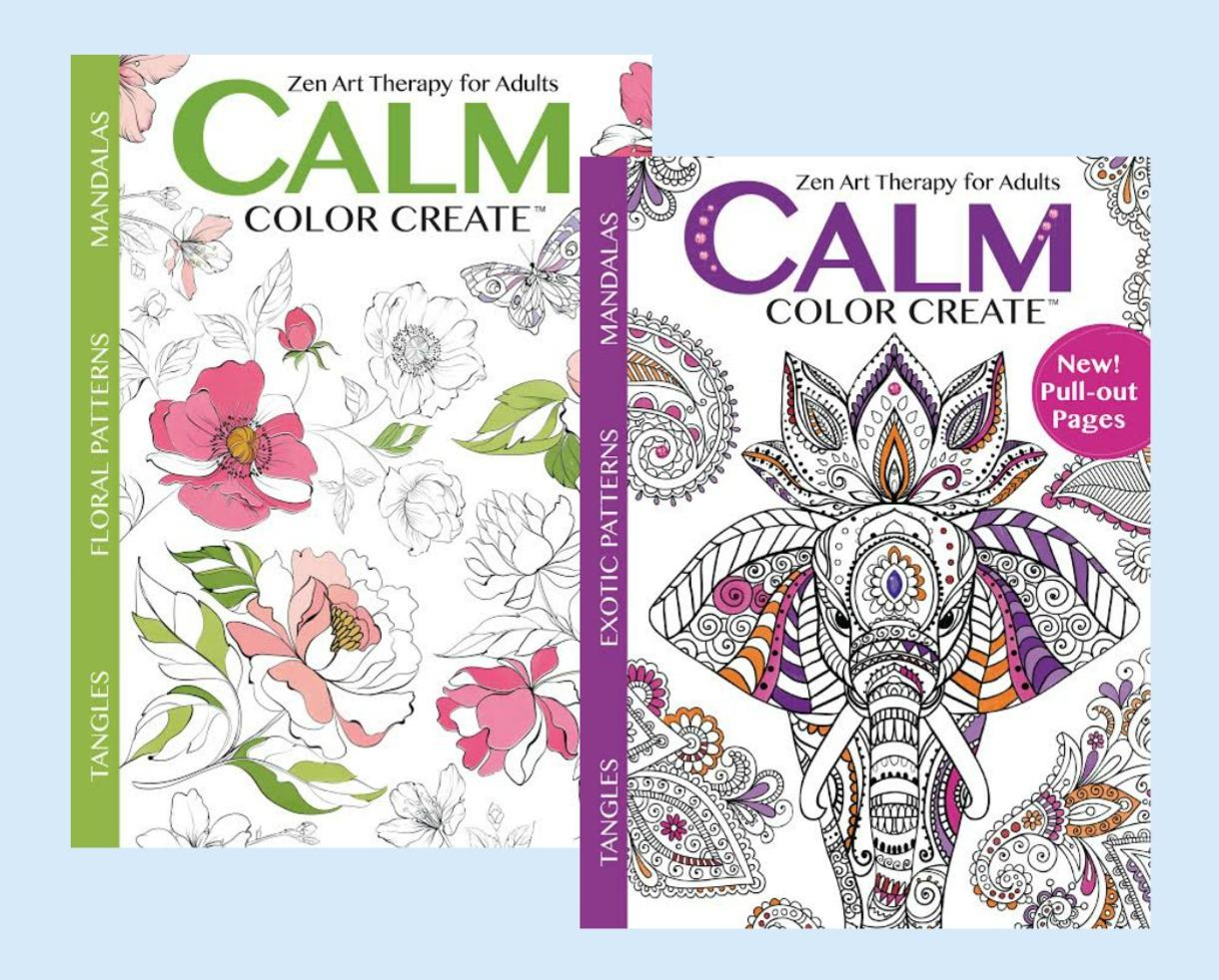 Color zen magazine -  29 99 For 1 Year Subscription To Calm Color Create Magazine 15 Off