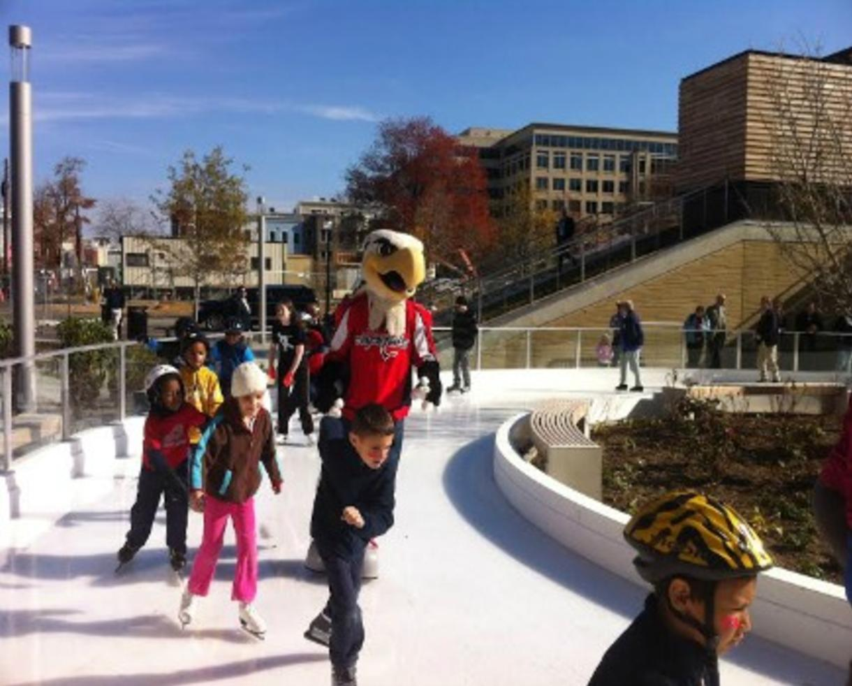 $14 for 2 Admissions - Adult or Child - Including Ice Skate Rentals at Canal Park Ice Rink ($28 Value - 50% Off)
