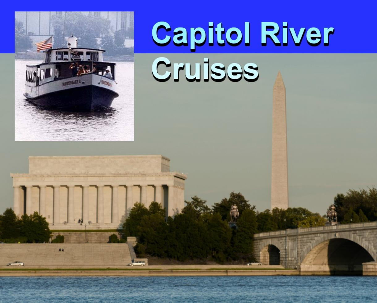 $22 for DC Weekday Sightseeing Cruise for FOUR People (50% Off - $44 Value)