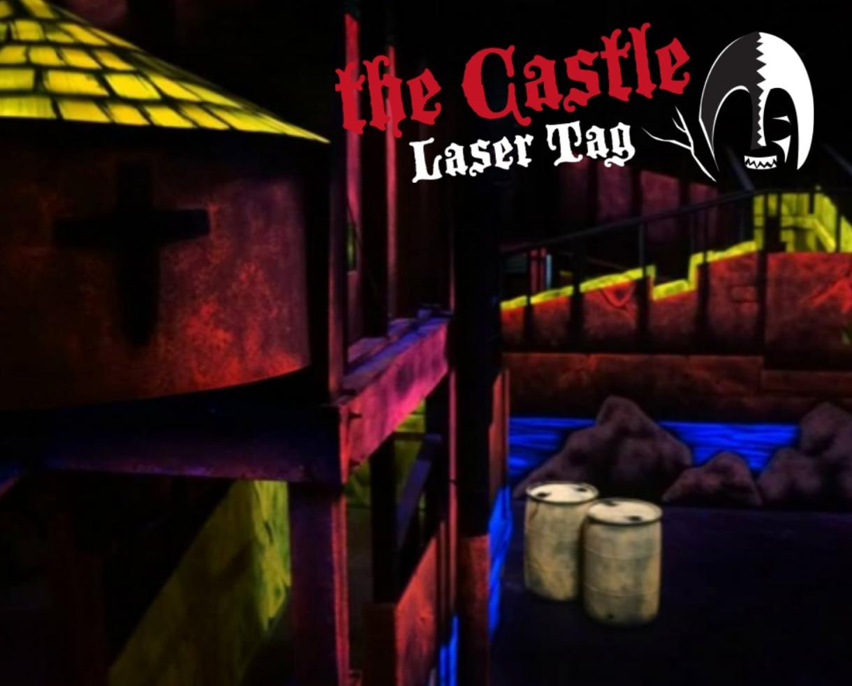 $19+ for Laser Tag for Two, Four or Six People at The Castle Laser Tag + Party Option - Brand New Gaithersburg Location or Bowie (Up to 42% Off)