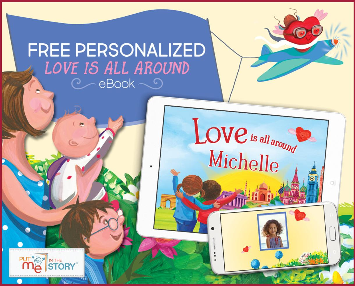 FREE Personalized Children's eBook From Put Me In The Story!