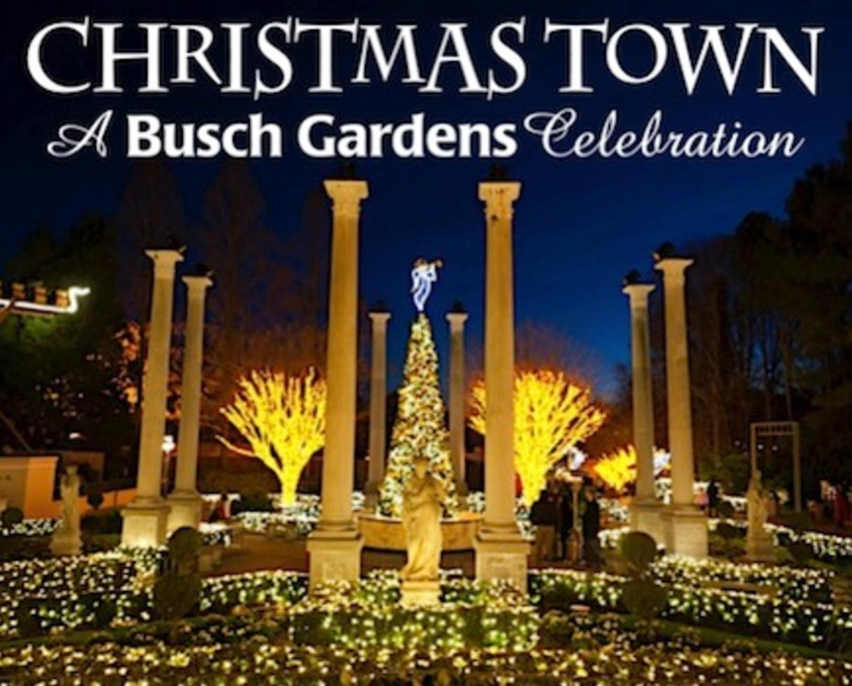 Discovery Ticket To Christmas Town At Busch Gardens In .