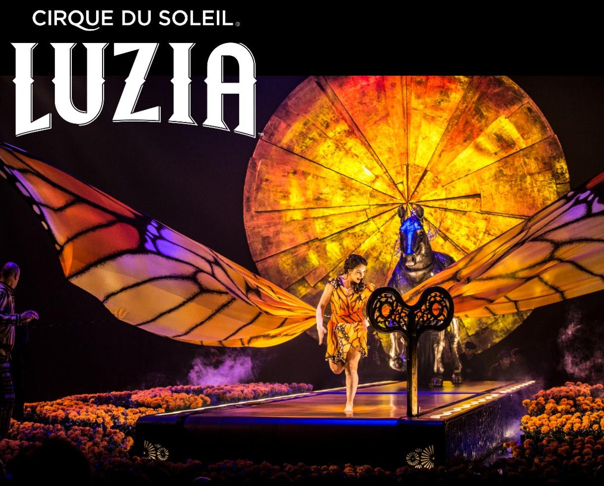 Save Up to 20% Off Tickets to Cirque du Soleil's LUZIA - April 13 - May 13 at Tysons Corner