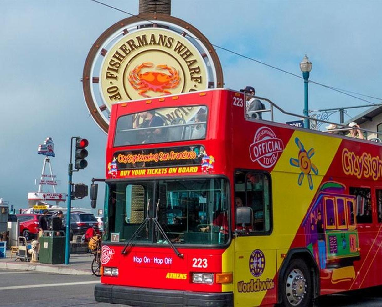 Hop On/Hop Off Tour for Adults or Children from City Sightseeing