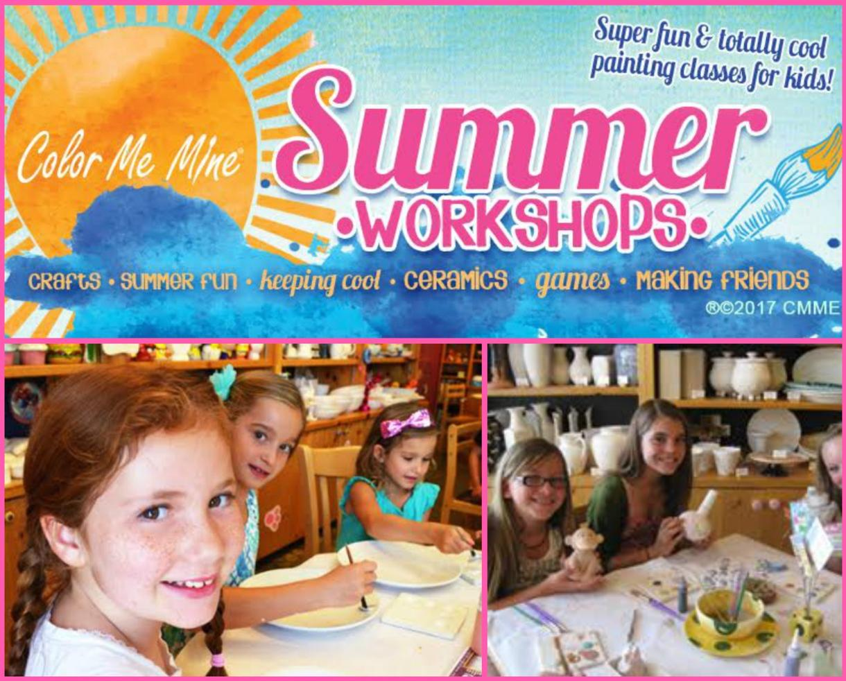 $155 for Color Me Mine Rockville Art Camp for Ages 7-12 (25% Off)
