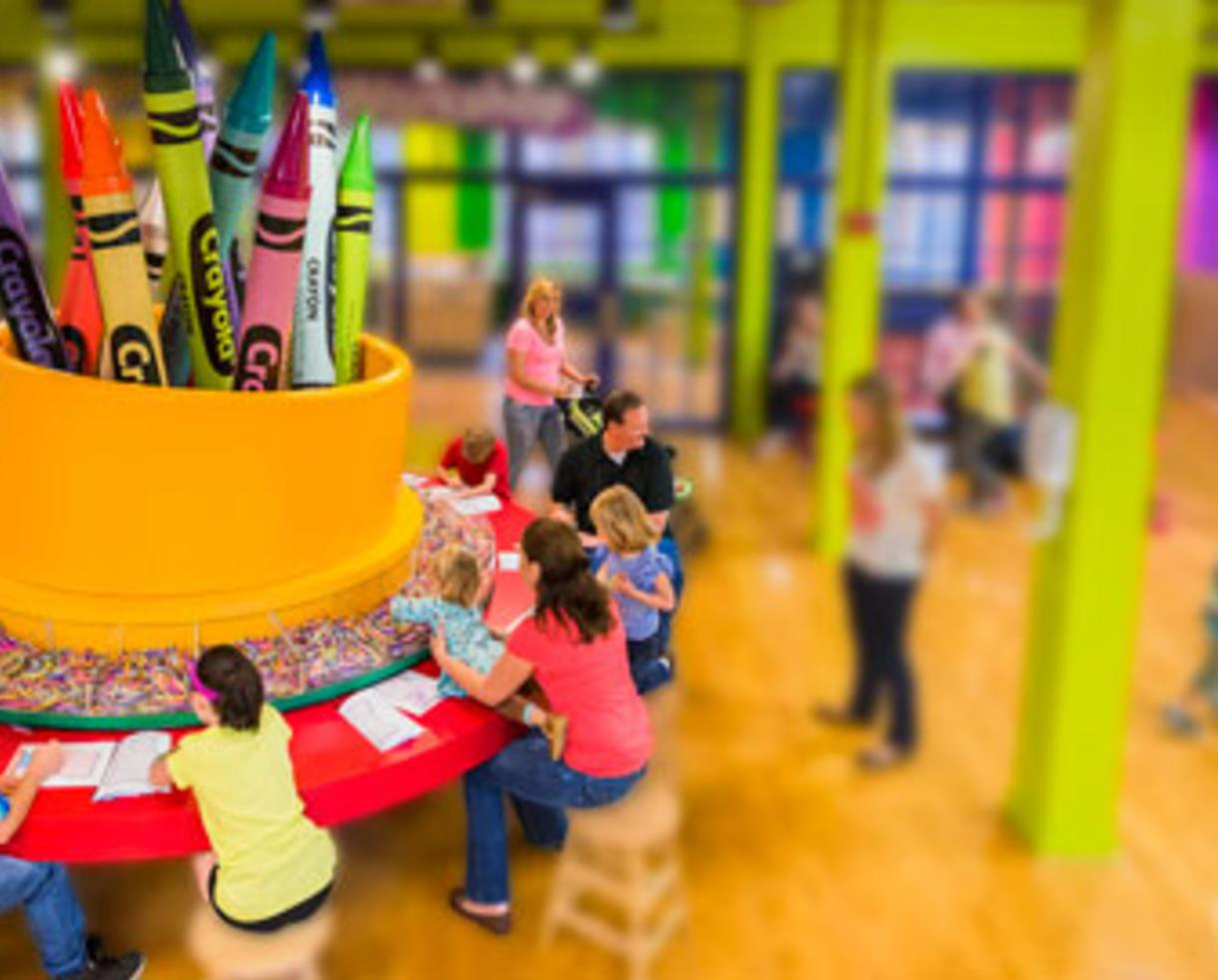 deal 12 99 for crayola experience admission easton pa 28 off