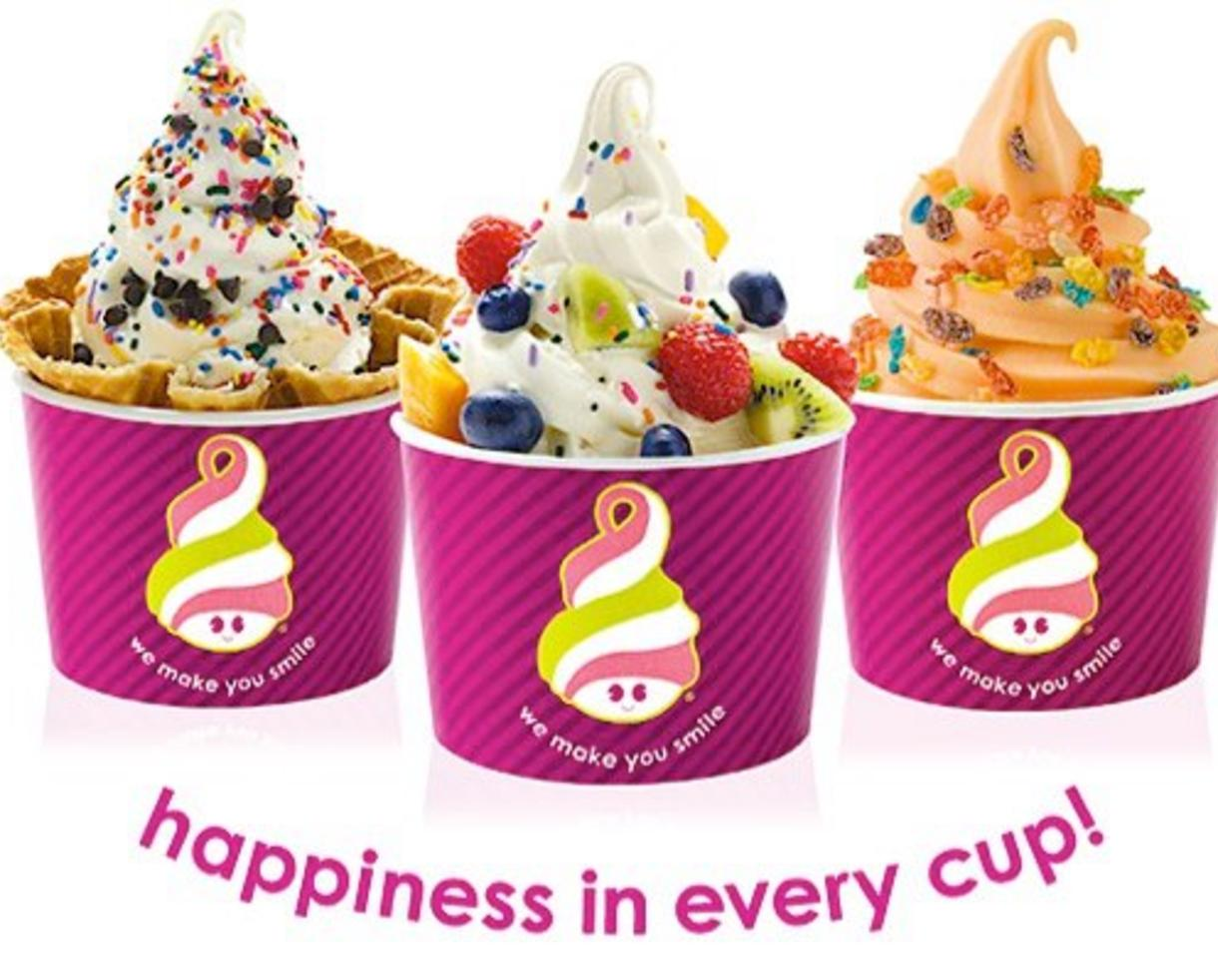 10 for 20 worth of frozen yogurt from menchies 7 locations in md dc va and pa 50 off