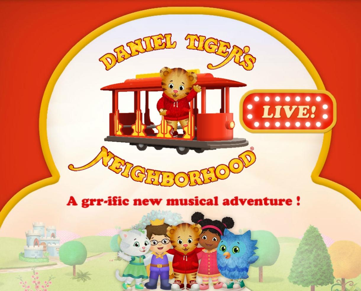 $49.06 for Daniel Tiger's Neighborhood LIVE! on Saturday, Jan. 14th at The Lyric in Baltimore ($65.80 Value!)