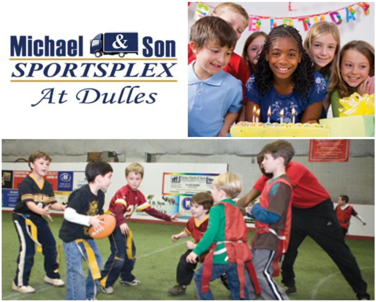 $112+ for Birthday Party Package at Michael & Son SportsPlex in Dulles (Up to 25% Off)