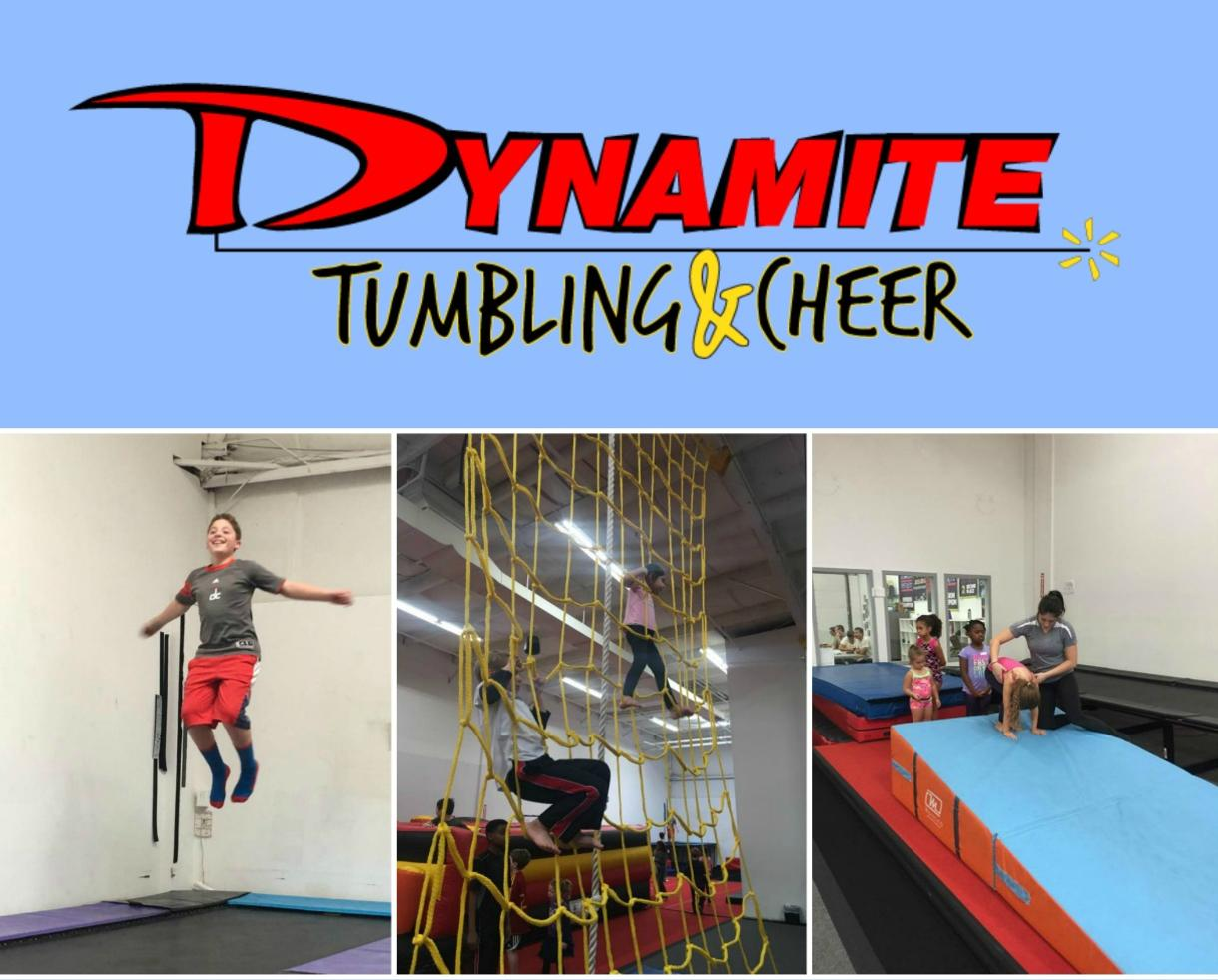 $199+ for Dynamite Tumbling & Cheer Camp for Ages 3-17 in Gaithersburg (Up to 34% Off)