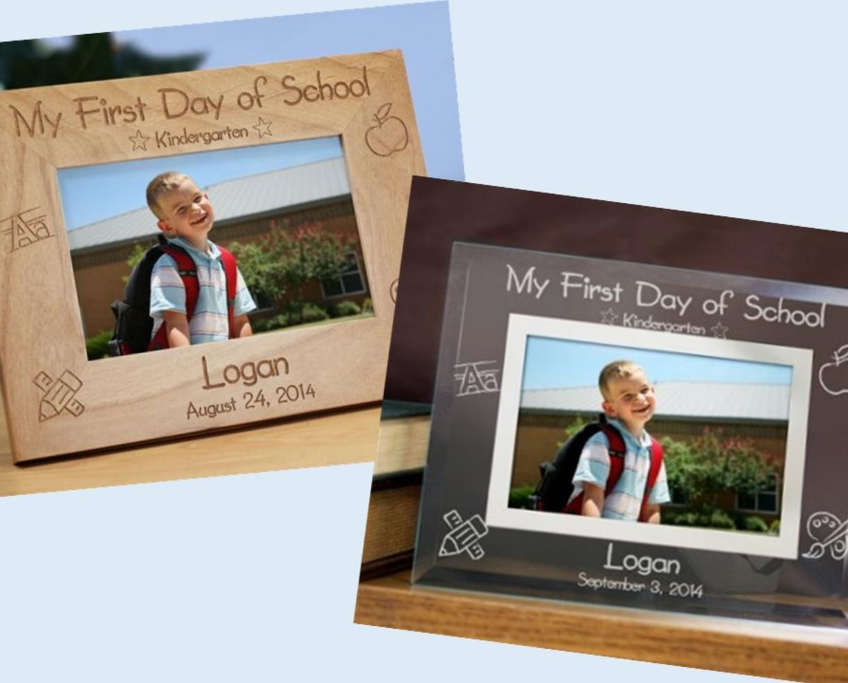 Deal: $15 for Personalized Engraved Wood or Glass Picture Frames ...