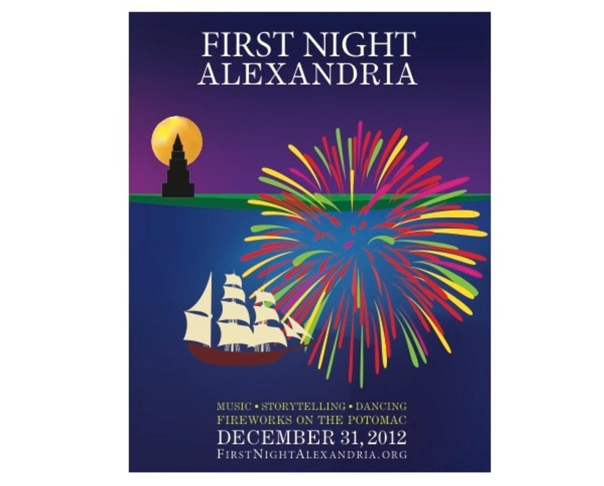 $10 Adult Admission Badge to First Night Alexandria - a Family-Friendly New Year's Eve Festival! - Kids Free (50% off)