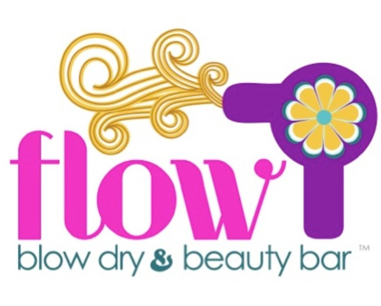 $35 for Blow Dry + Scalp Massage + Deep Conditioning Treatment at FLOW Blow Dry & Beauty Bar - Reston (50% Off)