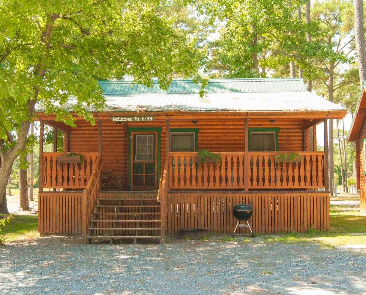 2-Night Stay in a Barebones Cabin at Frontier Town Valid for Sundays - Thursdays ONLY from April 2 - May 24, 2018