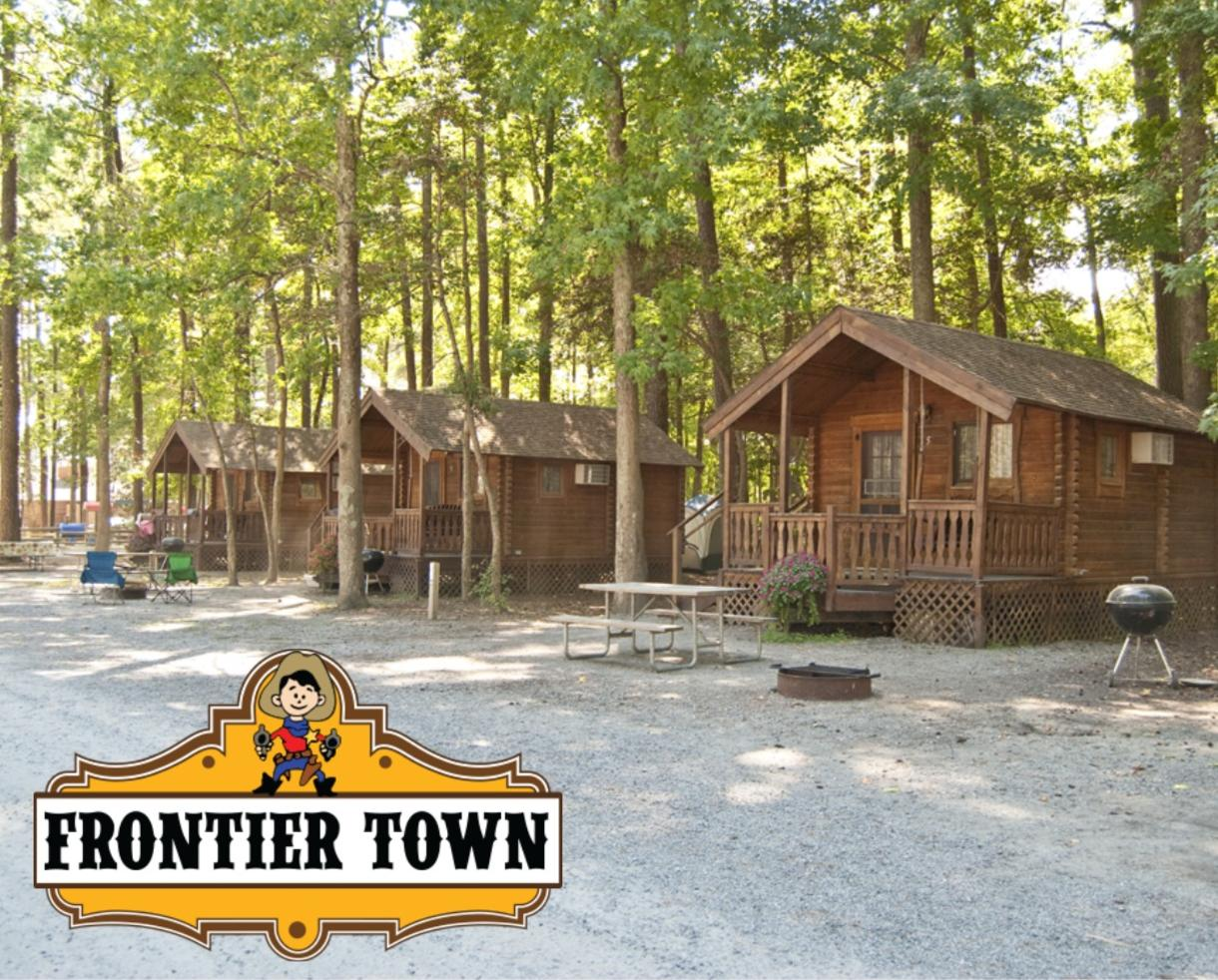$67+ for 2-Night Cabin Getaway at Frontier Town Near Ocean City, MD (Up to 50% Off)