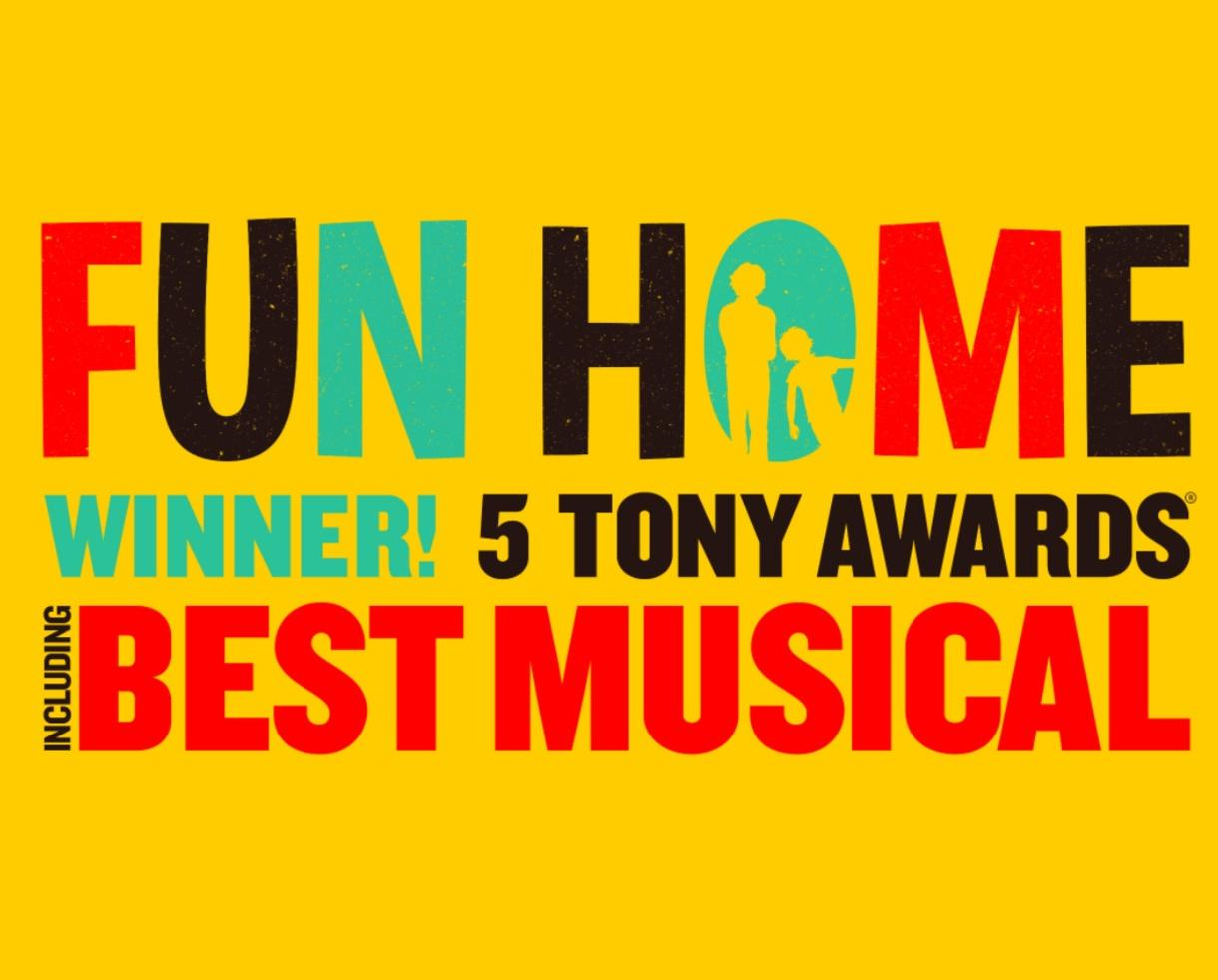 Up to 35% Off Tickets to FUN HOME - Tony Award Winner for Best Musical! at The National Theatre in DC
