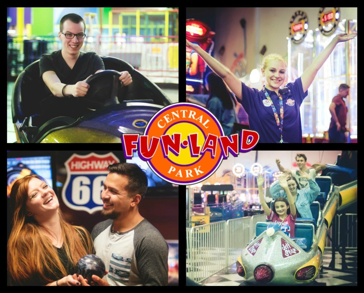 $20 for Central Park Fun Land ALL-DAY UNLIMITED RIDES & ATTRACTIONS - Fredericksburg, VA (40% Off)