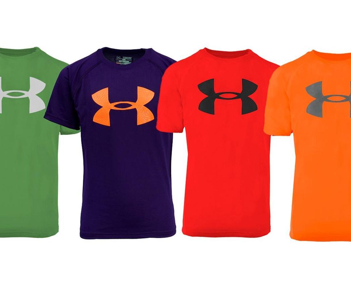 Under Armour Boys' UA Logo T-Shirt