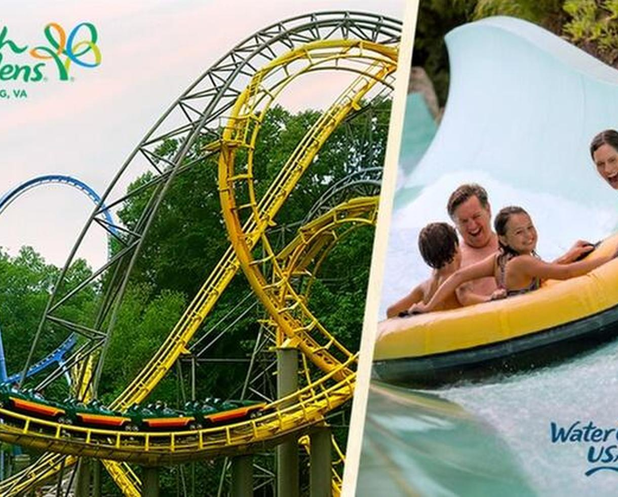 3 Day Ticket To Busch Gardens Williamsburg And Water Country USA