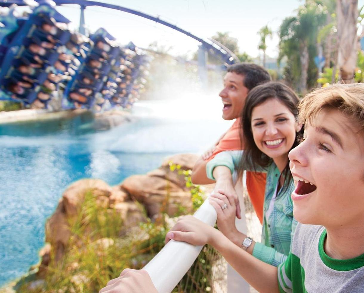 2 Park Or 3 Park Ticket To SeaWorld Orlando, Busch Gardens Tampa Bay And  More