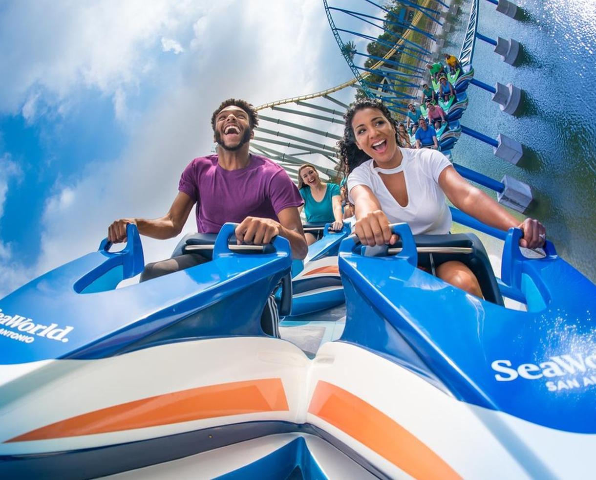 SeaWorld and Aquatica San Antonio 5 Day Flex Ticket