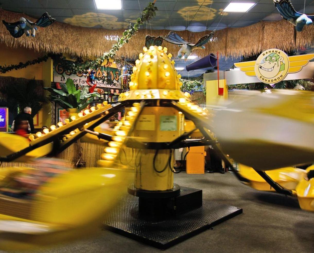 Unlimited Rides Weekdays at Go Bananas