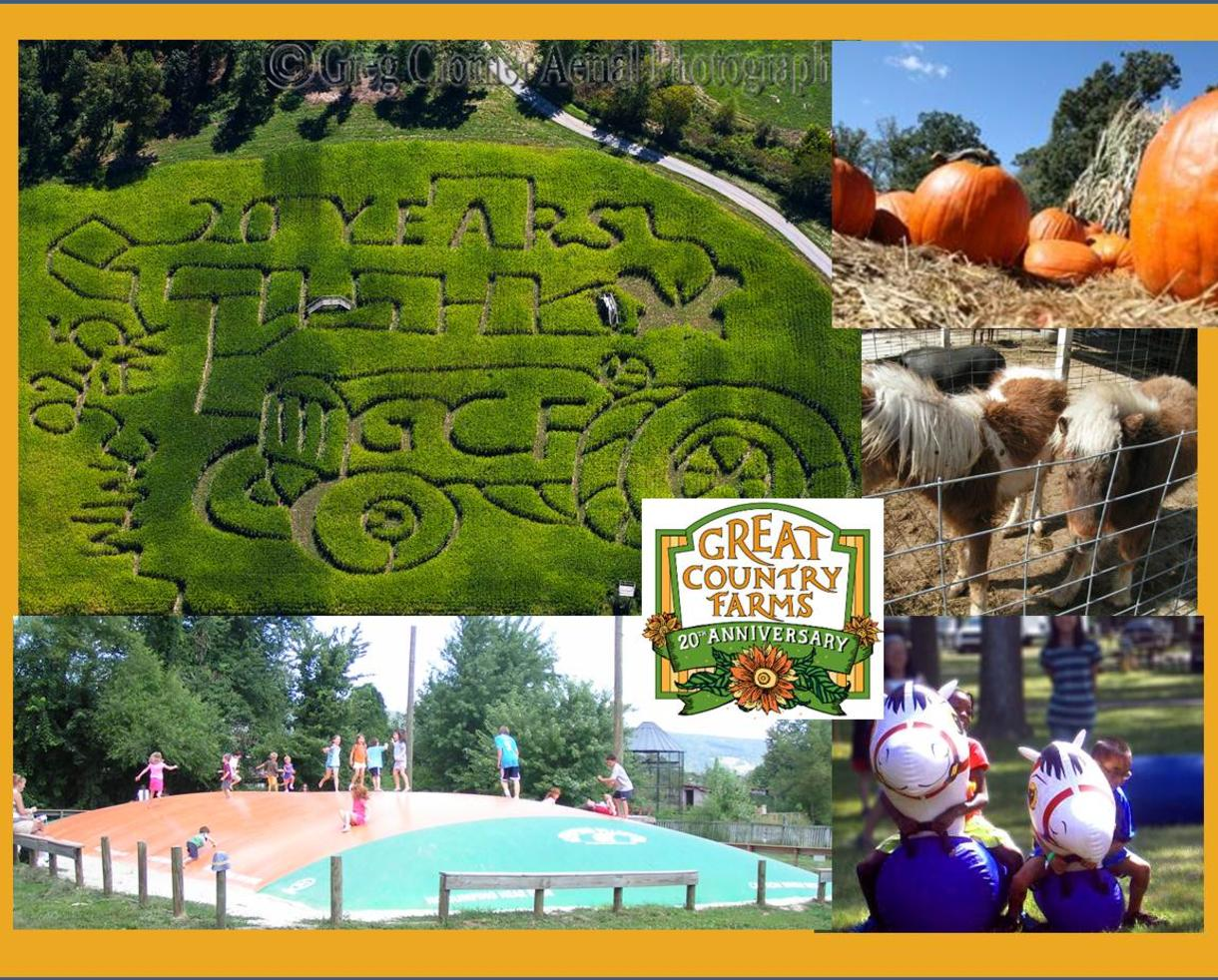 $8 for Nov. 2nd or 3rd Admission - Great Country Farms (Up to 50% Off!)