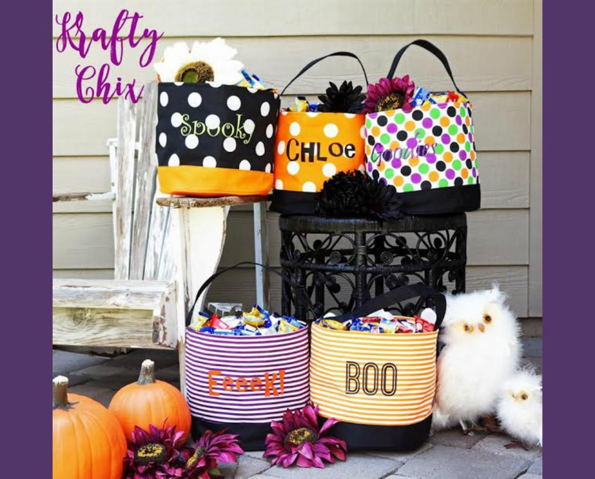 $9.99 for Personalized Halloween Bucket or $16.99 for Two! (Up to 67% Off)