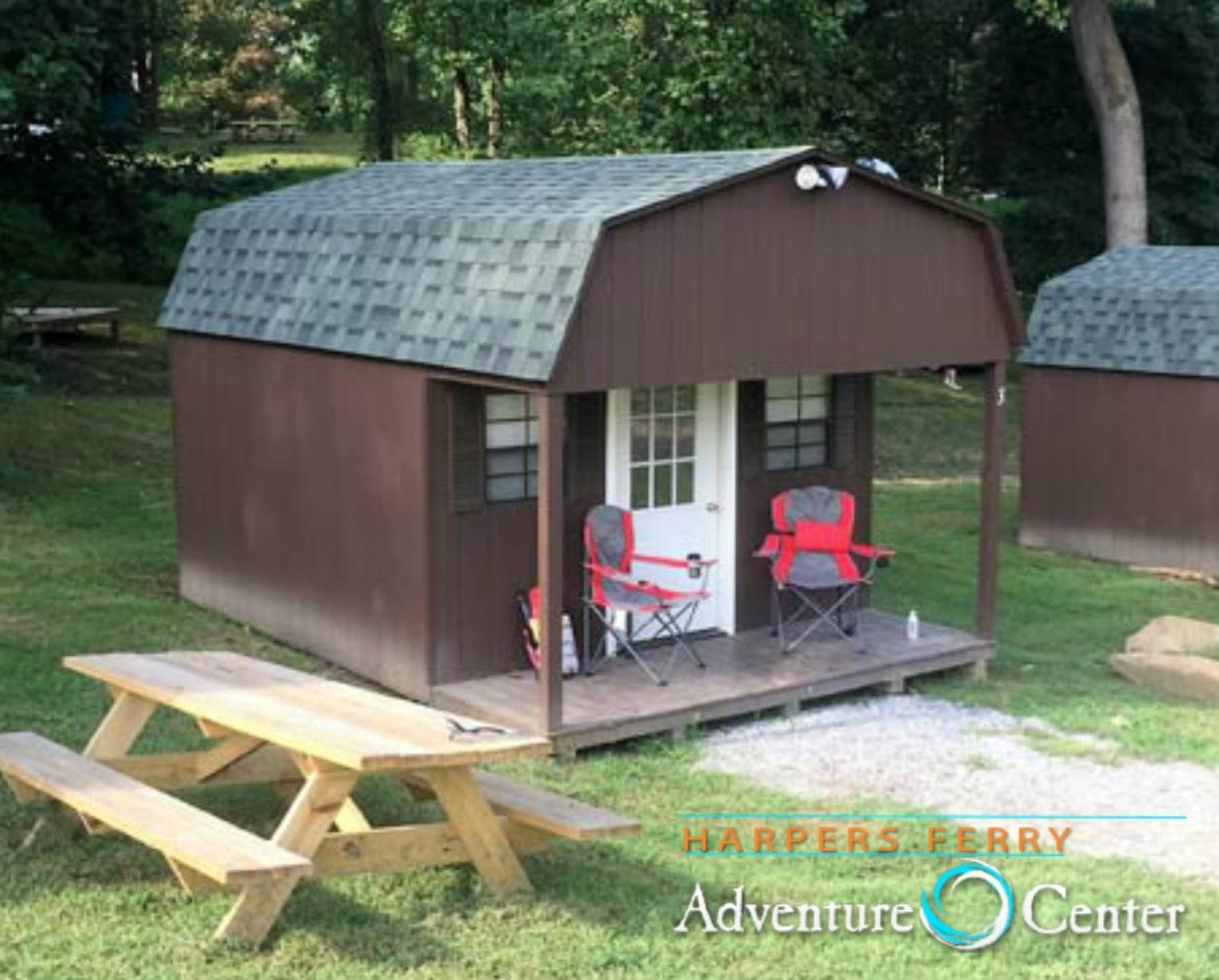 $67+ for One-Night Cabin Stay at Harpers Ferry Adventure Center - Purcellville, VA (Up to 30% Off)