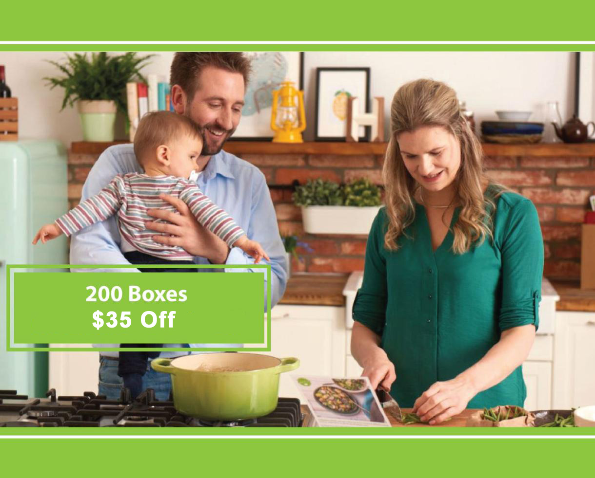 Goodbye Dinnertime Hassle, HelloFresh! $35 Off Your First HelloFresh Box With Code ​HELLOCK35
