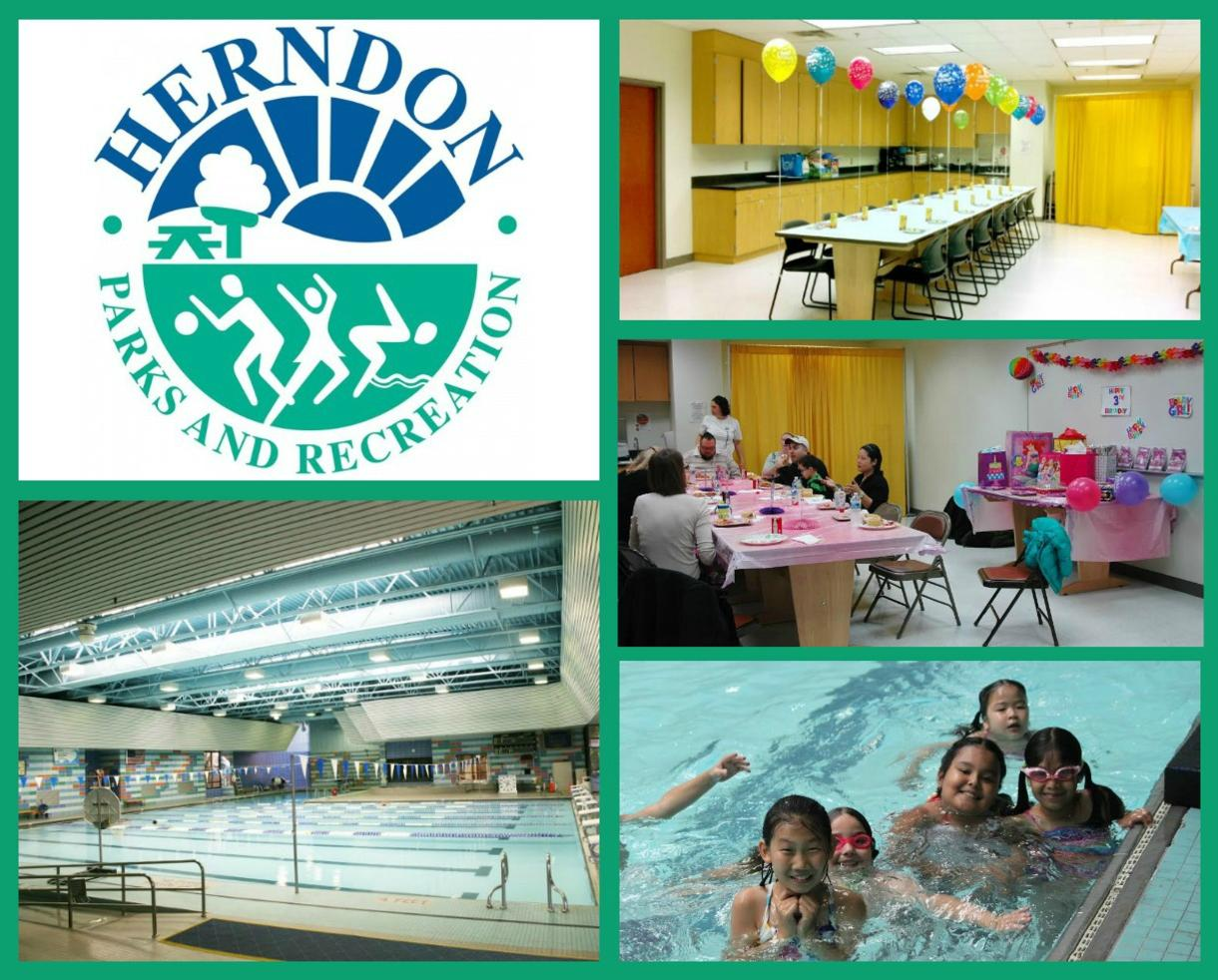 $4 for Indoor Pool Admission OR $99 POOL PARTY!! - Herndon Community Center (Up to 48% Off)