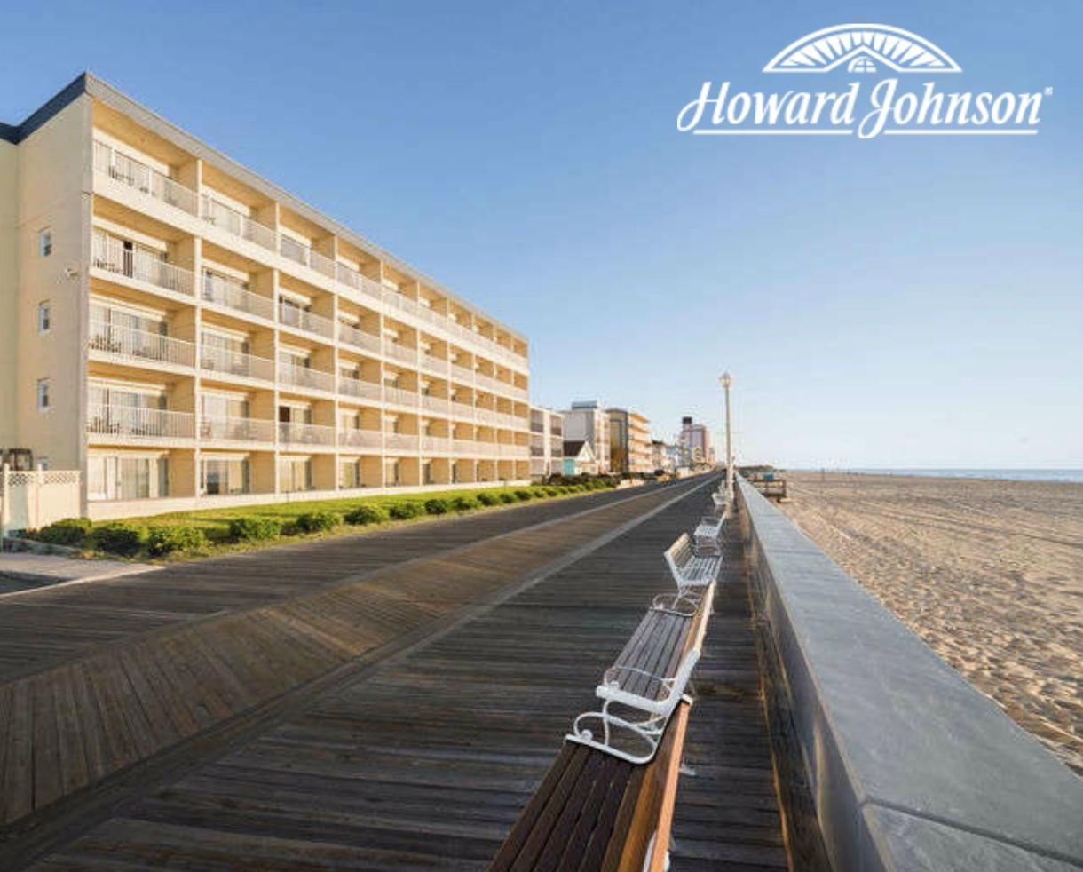 $74+ for One or Two Night Stay at Howard Johnson Oceanfront Inn on the Boardwalk + Thrasher's French Fries - Ocean City, MD (Up to 34% Off)