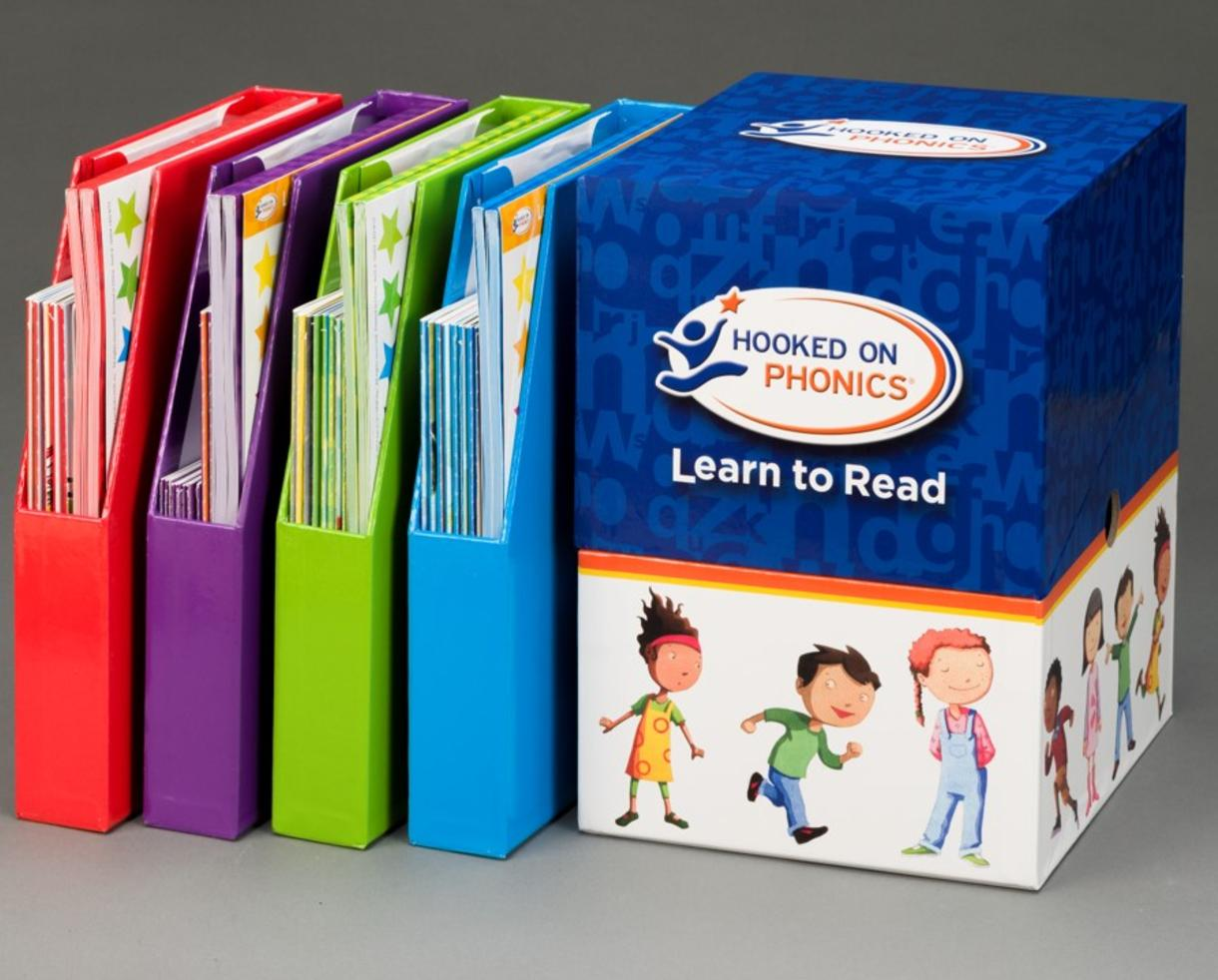 $134 for Hooked on Phonics Complete LEARN TO READ Kit for Pre-K to ...