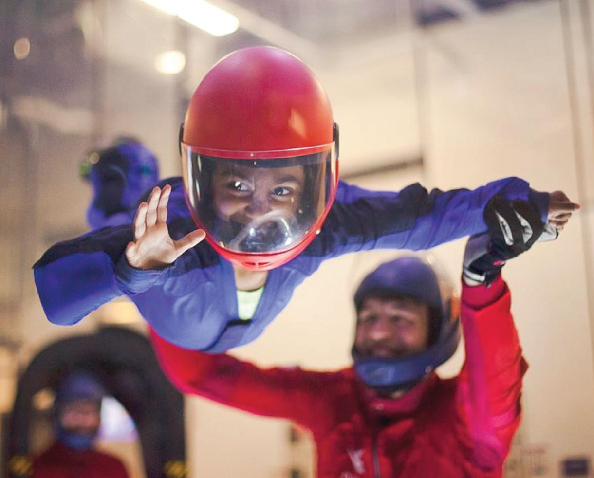 Two Flights for One Person at iFLY Chicago