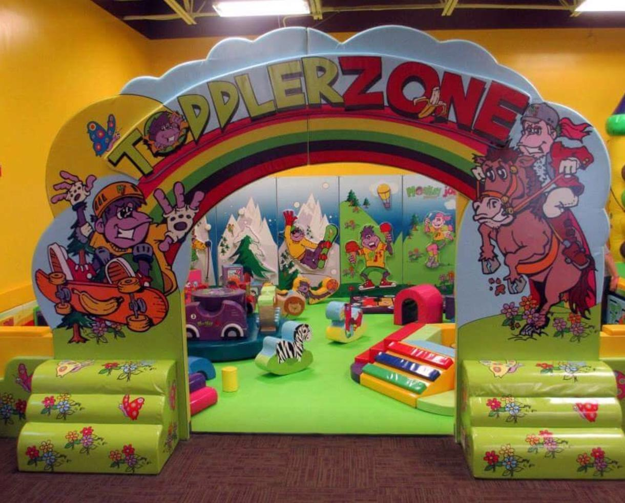 $30 for 5 Open Play Passes to Monkey Joe's Play Center in Dulles/Sterling! (54% Off)