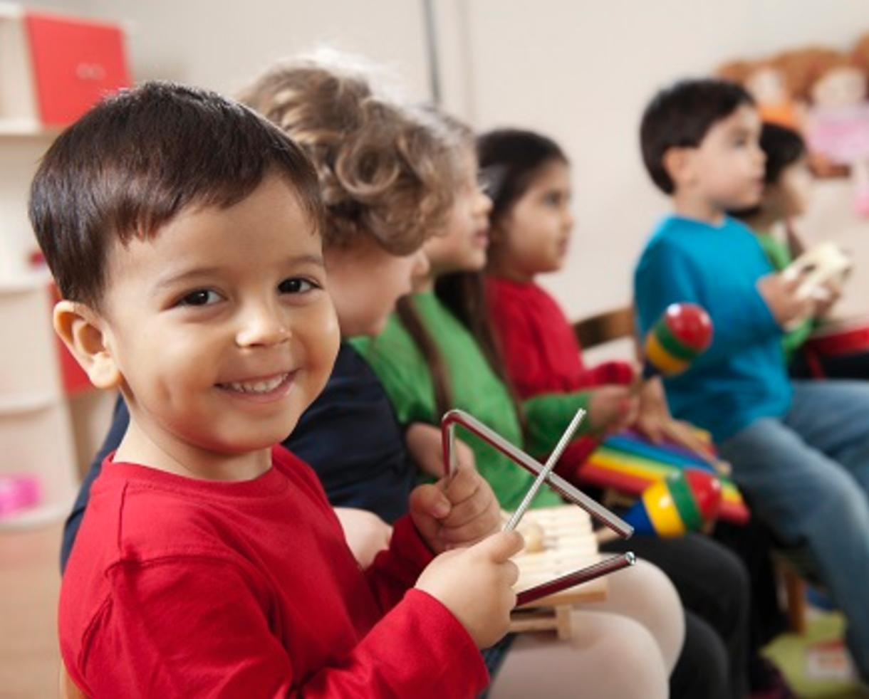 $199 for 12 Weeks of Early Childhood Music Classes Ages 0-7 from The International School of Music in Bethesda (45% Off)