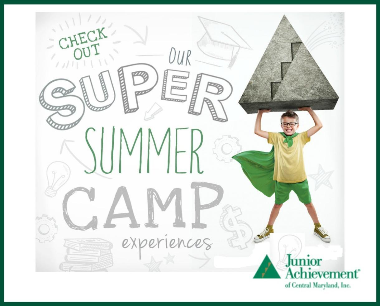 BizTown Summer Venture Camp at Junior Achievement