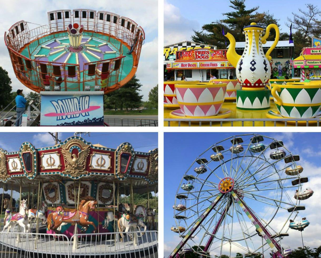 Unlimited Rides at the Eastpoint Mall Carnival