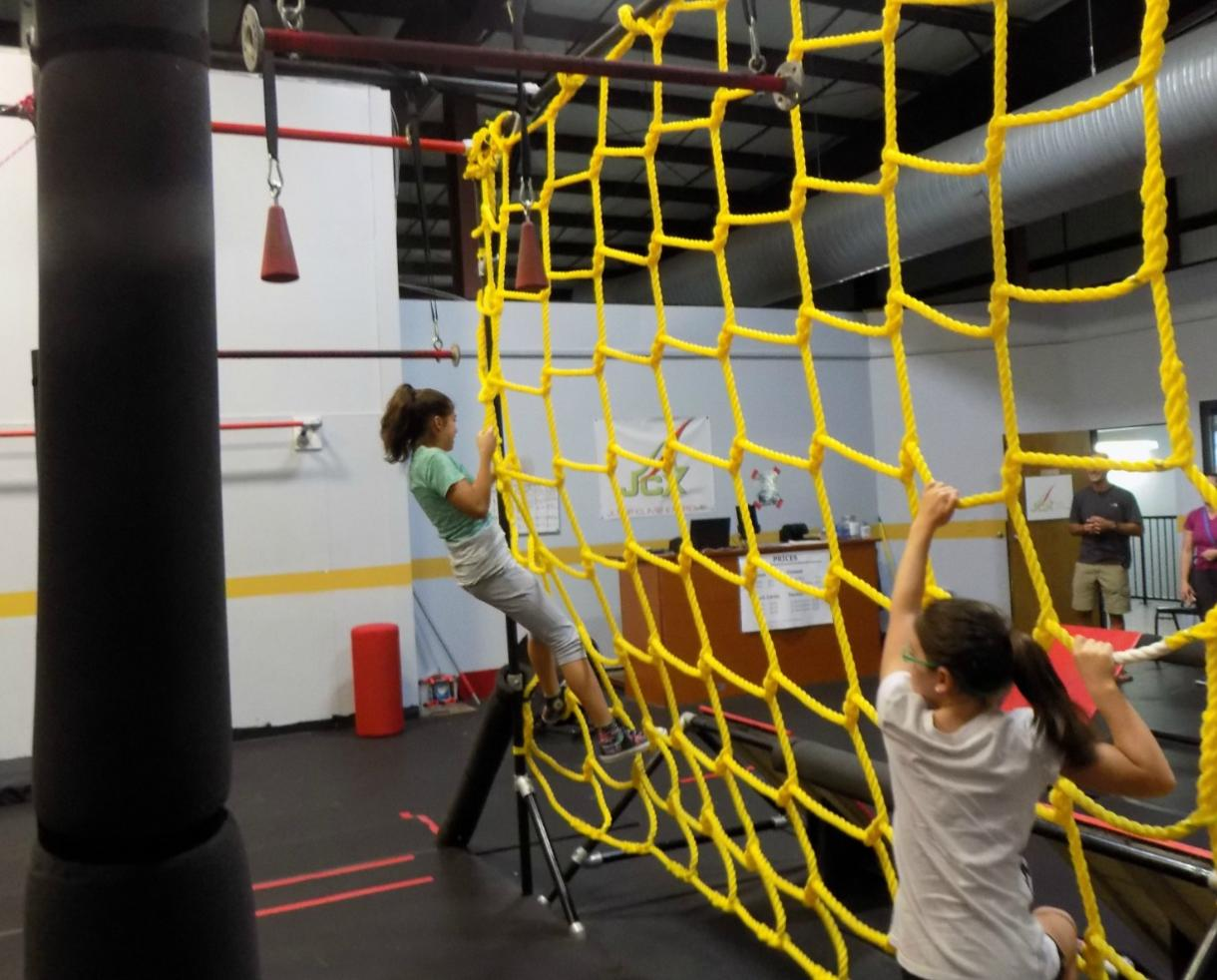 $7+ for Ninja Obstacle Course for Ages 6+ at Jump Climb Extreme - Frederick (Up to 50% Off)