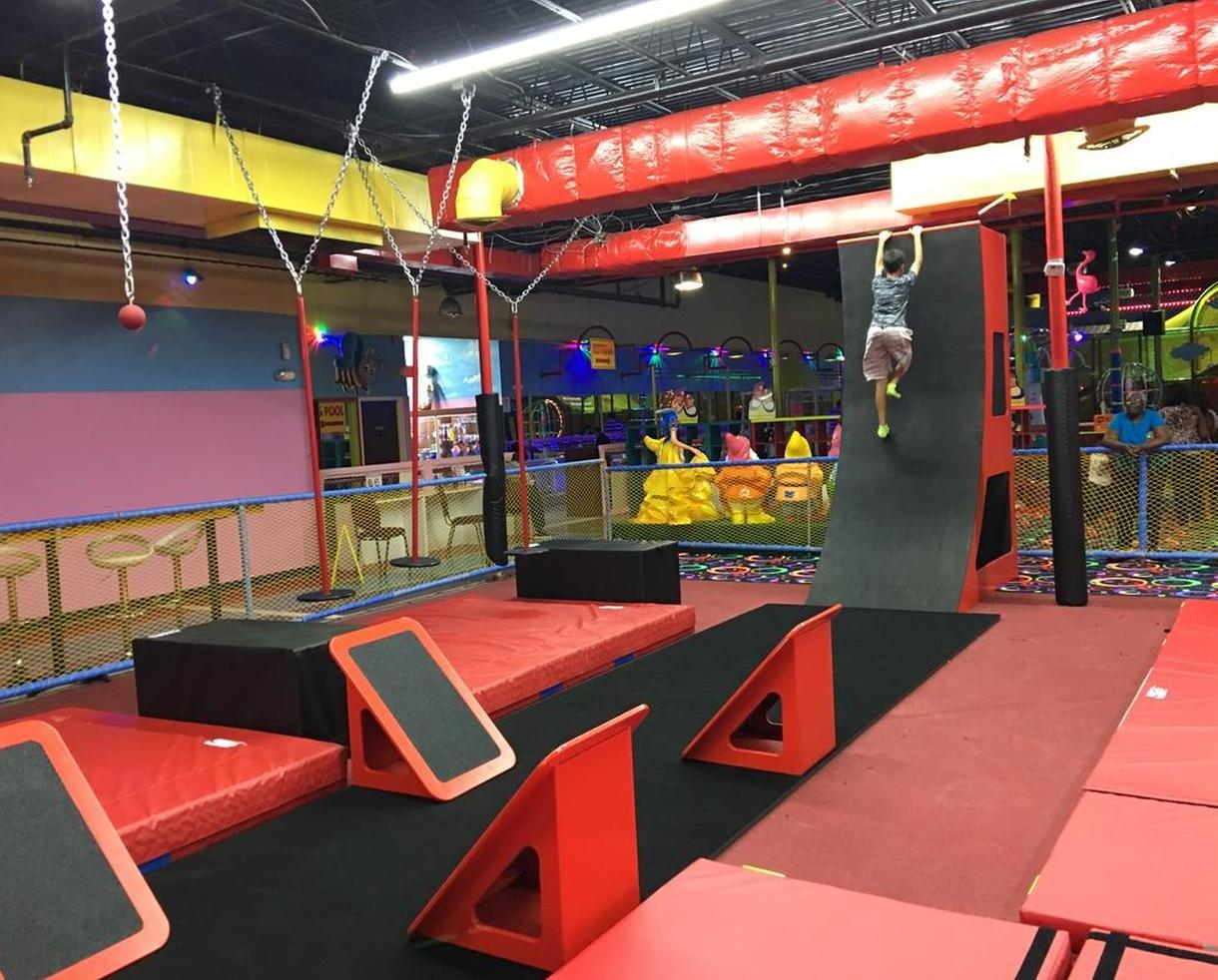 Ninja Obstacle Course Admission at Kid's Paradise