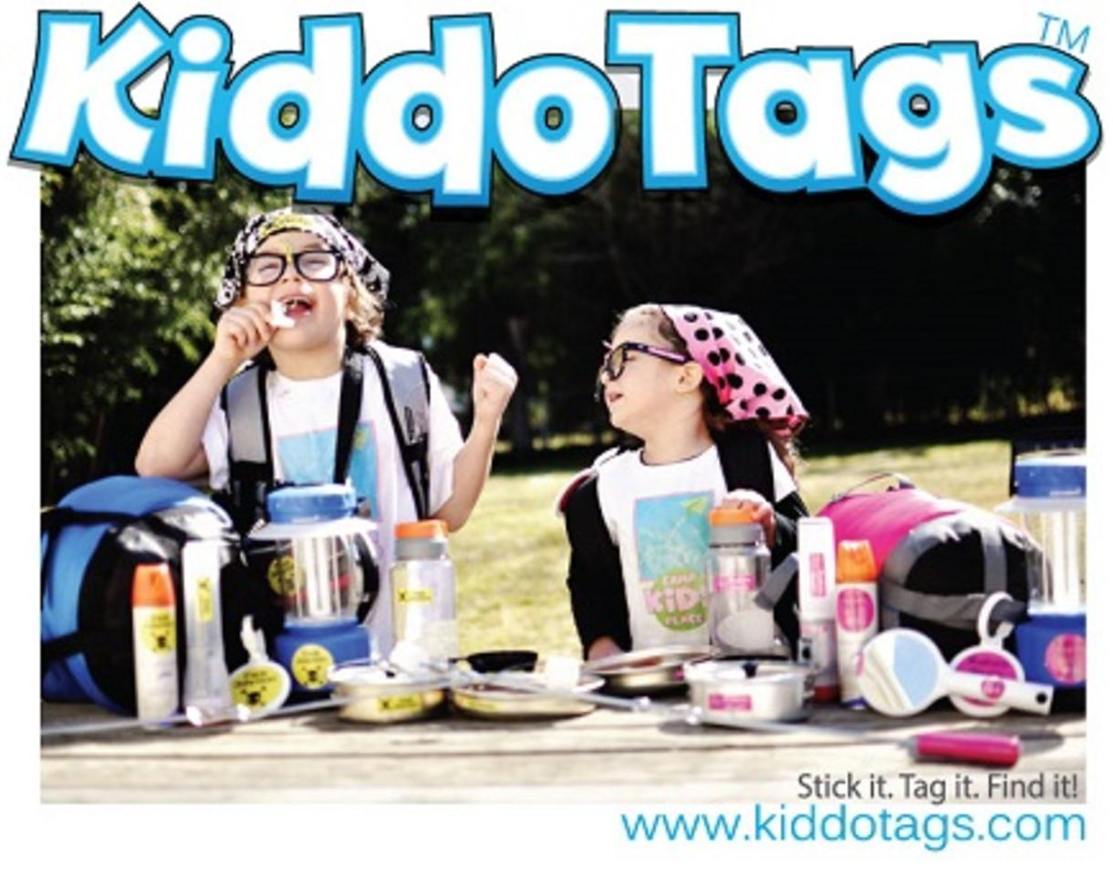 $20 for $40 Worth of Personalized Laminated Camp Labels from Kiddo Tags (50% Off - $40 Value)