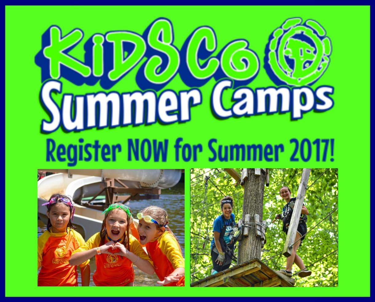 $230 for KidsCo Day Camp - Pre-K-9th Grade - EIGHT Montgomery County Locations! (Up to $120 Off)