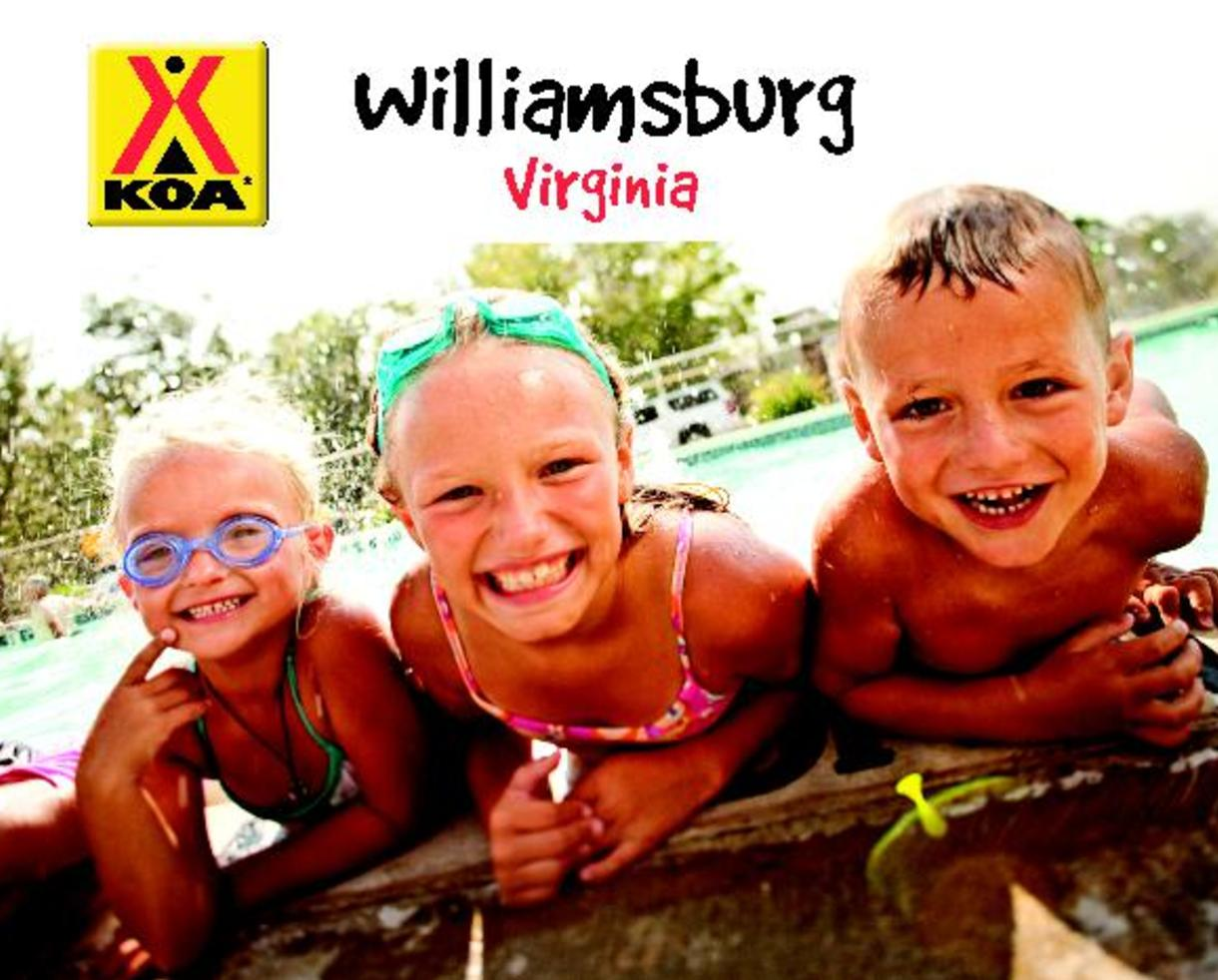 $129 for WILLIAMSBURG KOA SUMMER 2-Night CABIN or 3-Night CAMPSITE Getaway (41% Off)