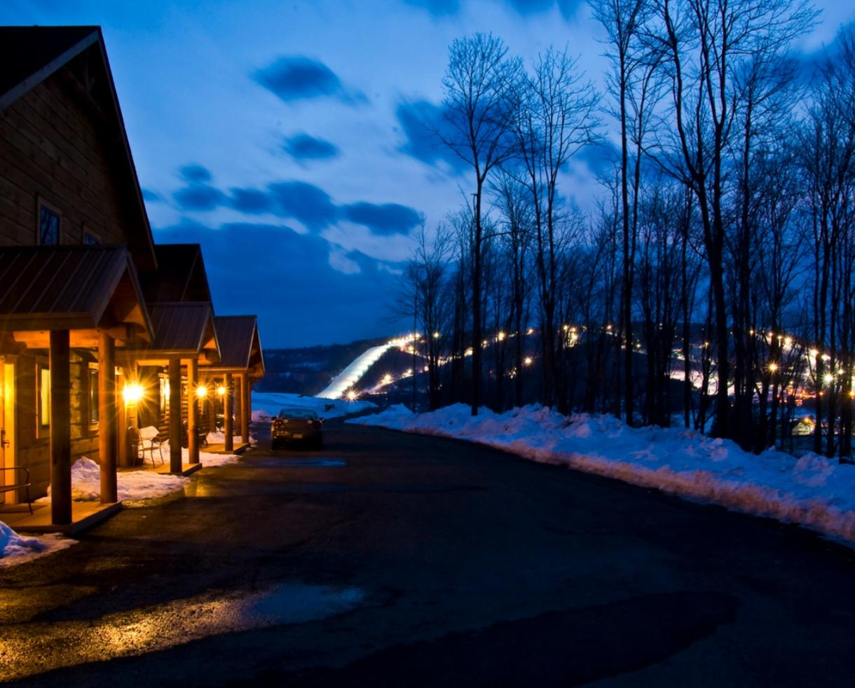 $149+ for Luxury Cabin Stay at The Lodges at Sunset Village + Wisp Resort Lift Tickets - Deep Creek Lake (Up to 62% Off)